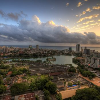 Sunset in Colombo