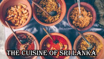 The cuisine of Sri Lanka – Website