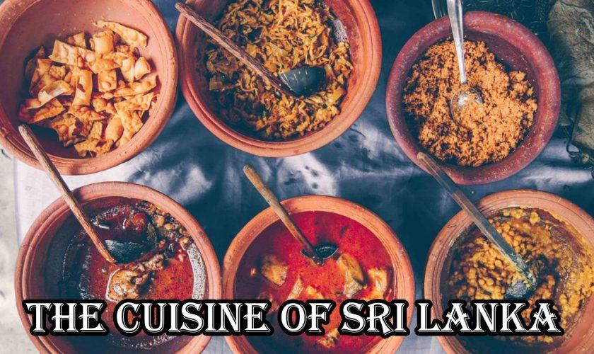 The cuisine of Sri Lanka – Website